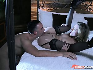 Anya Olsen disciplined with rigid dick in her taut honey pot after spanking