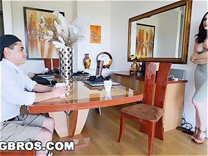 BANGBROS - cougar Chanel Preston plows daughters-in-law bf