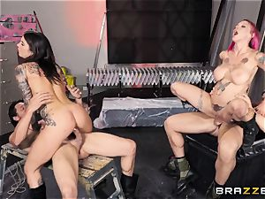 Anna Bell Peaks and Felicity Feline foursome