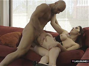 LASUBLIMEXXX Valentina Nappi pleases a nasty fellow