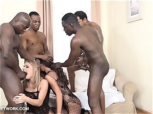 dual assfuck dual foray group poke multiracial