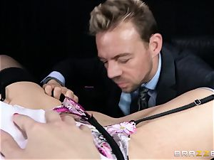 dirty chief is given a poundable anal dream by Britney Amber