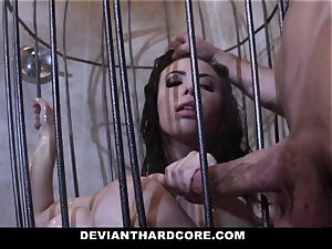 DeviantHardcore - Casey gets a jiggly fetish penetrate