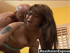 RealAsianExposed Bigboobed chinese honey is