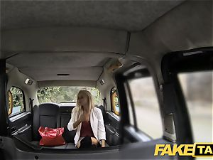 fake taxi bony blonde with small bootie gets anal invasion romp