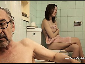 dark haired Latina Maria Valverde looking cool on film