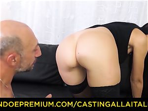 audition ALLA ITALIANA - messy rookie anal invasion audition