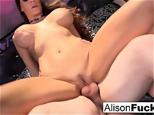 big-titted Alison gets fucked hard