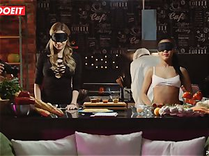 LETSDOEIT - fucky-fucky Cooking With honies Apolonia and Angel