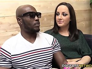 Marley Blaze Does Her first bi-racial assfuck