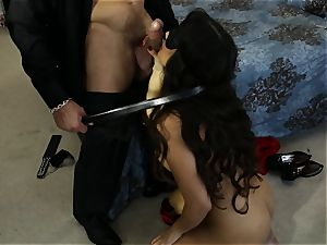 buxom latina Mercedes Carrera penetrated in her cock-squeezing raw cunt