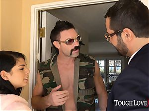 TOUGHLOVEX Gina Valentina disciplined for being a bad chick