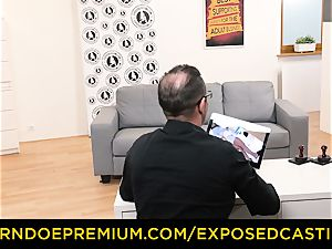 uncovered audition - jizm on vulva in epic audition sequence