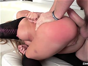 LiveGonzo Amy Brooke In enjoy With ass-fuck activity