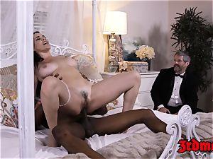 cheating milf tramp Dana big black cock hammered