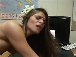 Madelyn Marie is a luxurious secretary