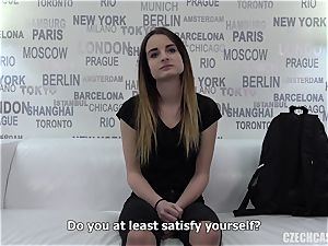 Czech nymph audition Dominika