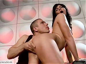 tipsy slut gets ravaged in nightclub
