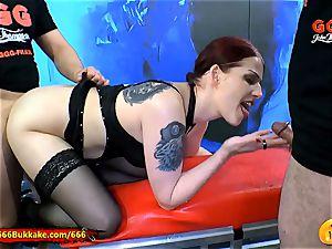bodacious Emily Extrem anal peeing bitch - 666Bukkake