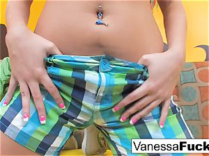 Vanessa determines To boink Her tight tiny vag