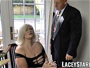 LACEYSTARR - naughtiest grannie analled before popshot