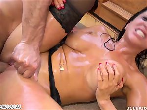 Romi Rain - nail my mexican hefty greased bum now!