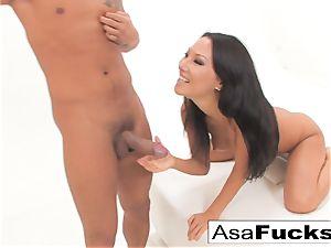Asa's assfuck handballing and pounding creampie