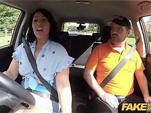 faux Driving school Candi Kayne comebacks