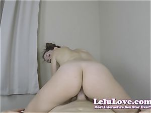 riding YOUR pecker until I take your internal ejaculation deep in