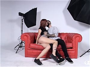 Las Folladoras - Random stud loves his first-ever pornography shoot