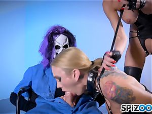 Monster with monster dick tearing up deep Sarah Jessie and Jessica Jaymes