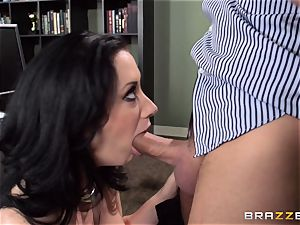 secretary Jayden Jaymes is punished for her error