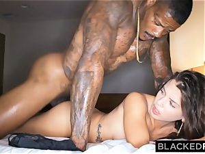 BLACKEDRAW cheating girlfriend hooks up with black guy