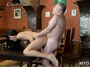 French elderly stud nails young very first time And she decided to try thinking that her