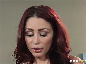 wife Lezley Zen gets vengeance on spectacular massagist Monique Alexander