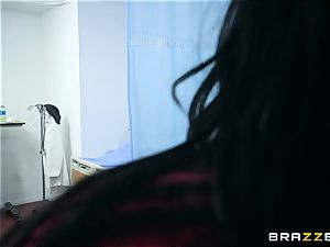 Monster schlong blowing nurses Chanel Preston and Veruca James