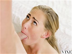 VIXEN steamy secretary Carter Cruise Lets her chief Do Whatever he Wants to her