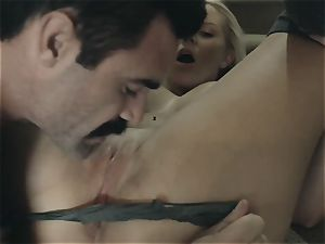 Vanessa cage - wondrous big-boobed towheaded has hookup on a first-ever encounter