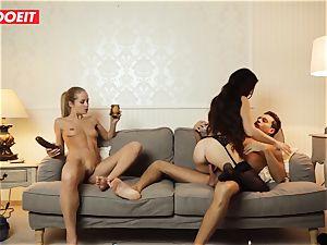 LETSDOEIT - horny wifey Gets ravaged hardcore By Swingers