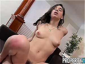 Abella Danger ferociously heads down on a lucky student's dick