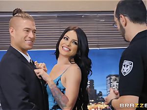 Kissa Sins getting crammed stiff