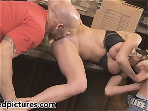 Veronica Avluv gets her vengeance with a sizzling three-way