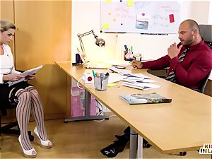 kinky INLAWS - FFM threesome with Czech stepdaughter