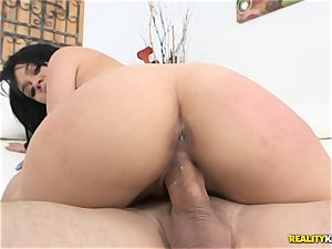 meatpipe glides into the gash stop of Kimmy Kush